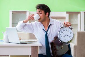 consommation café rester zen quotidien