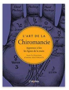 livre chiromancie ligne de la main