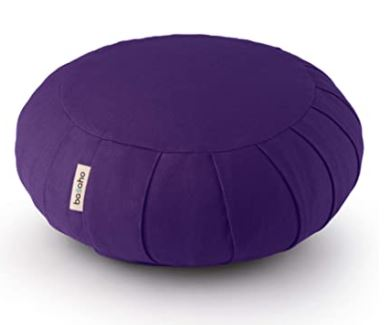 coussins zafu violet